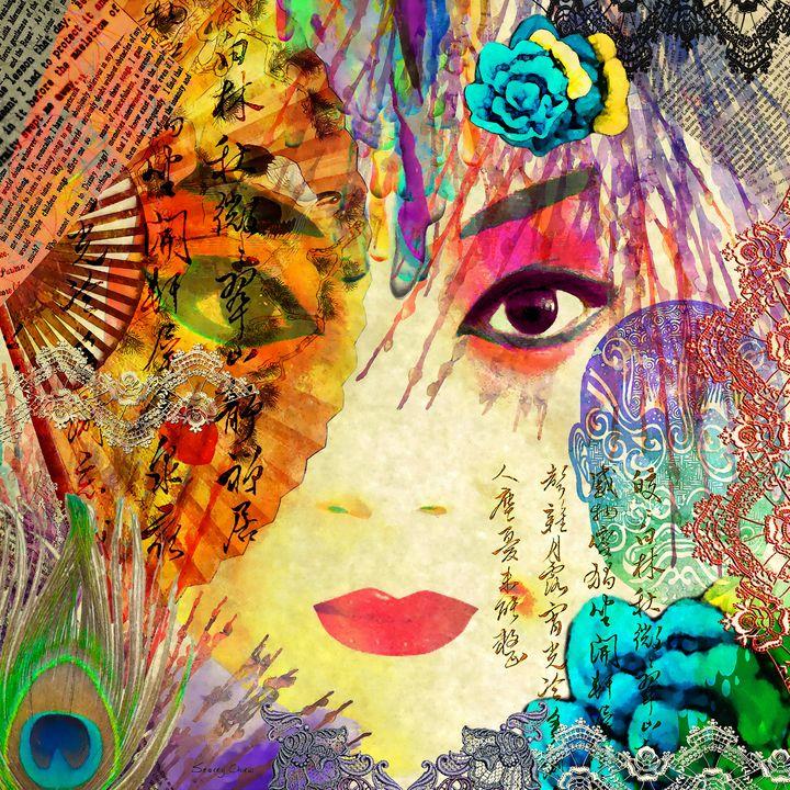 Beijing Opera Girl - Stacey Art Prints