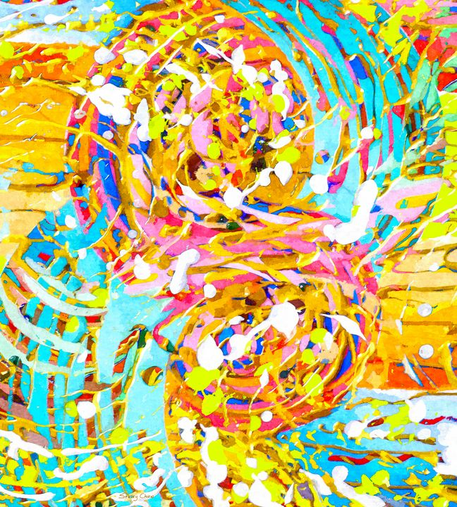 Sea Of Colors - Stacey Art Prints