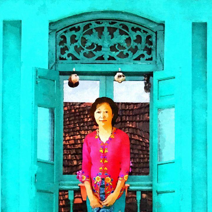 The Kebaya Lady - Stacey Art Prints