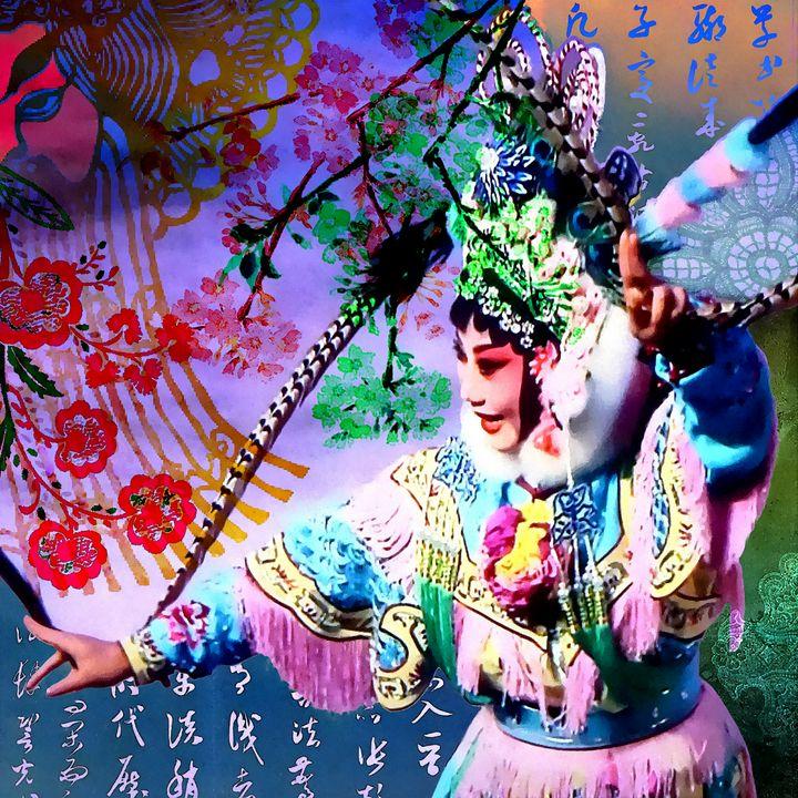 Chinese Opera - Stacey C Art
