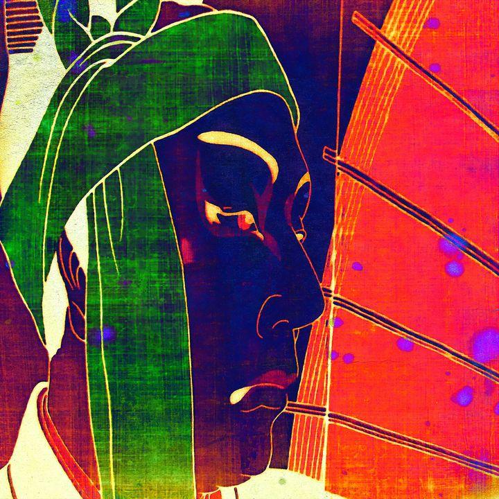 Samurai - Stacey Art Prints