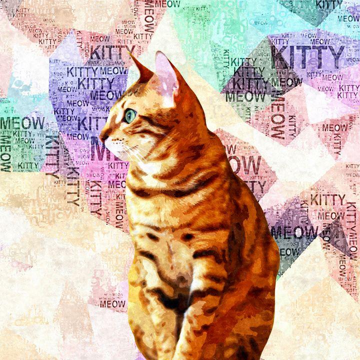 Zen Cat - Stacey Art Prints
