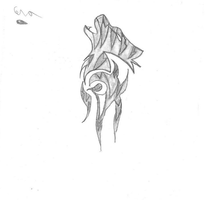 Tribal Wolf - Cera's Art