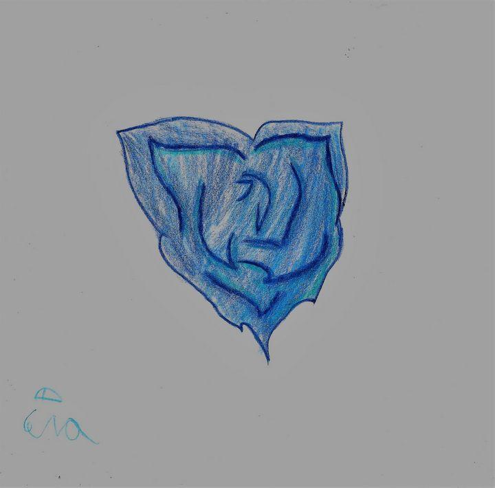 Blue Flower - Cera's Art