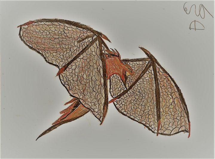 Flying Dragon - Cera's Art