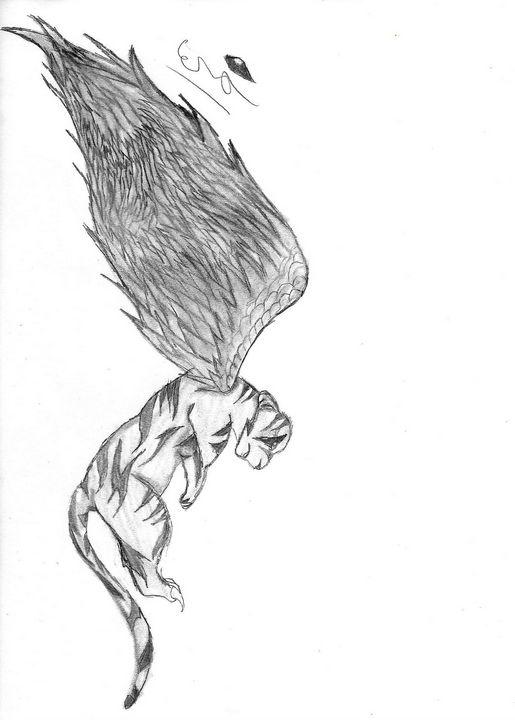 Winged Tiger - Cera's Art