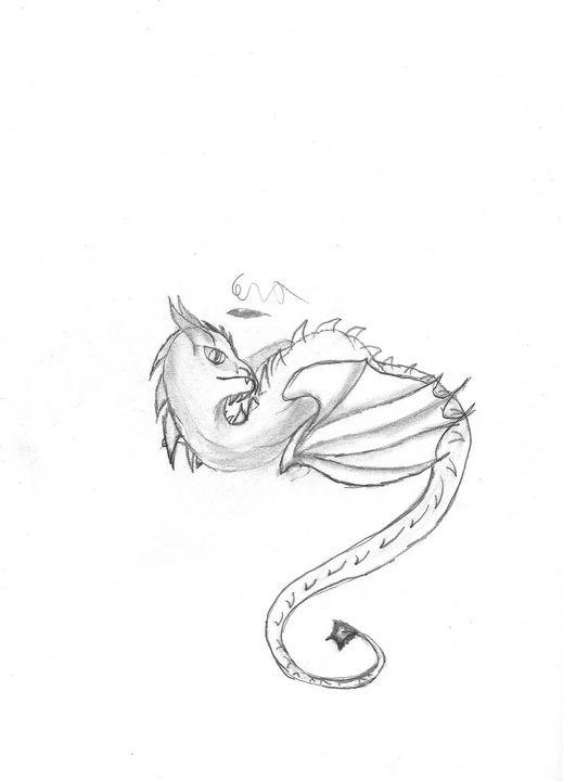 Wyvern - Legendary winged reptile - Cera's Art