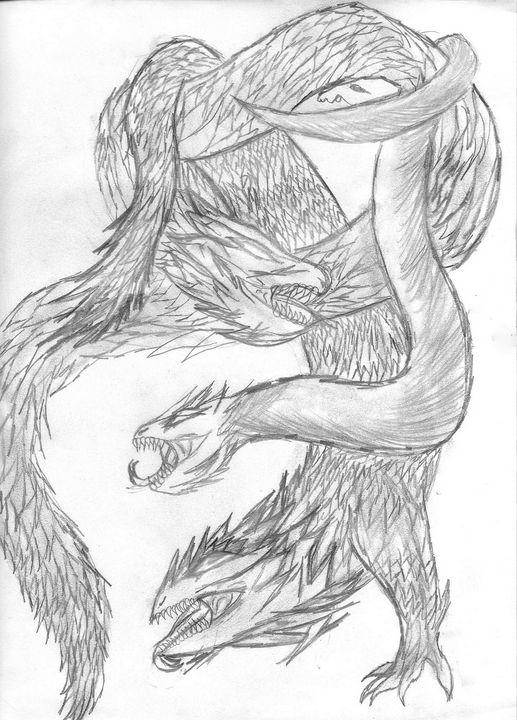 Dragon Fight - Cera's Art