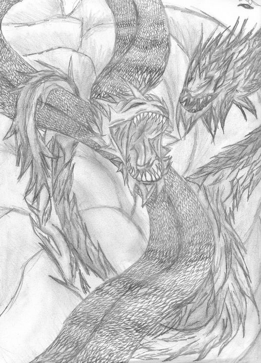 Double the Dragons - Cera's Art