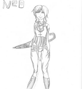 Neo from Rwby