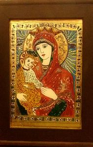 Virgin Mary and Child Jesus Christ