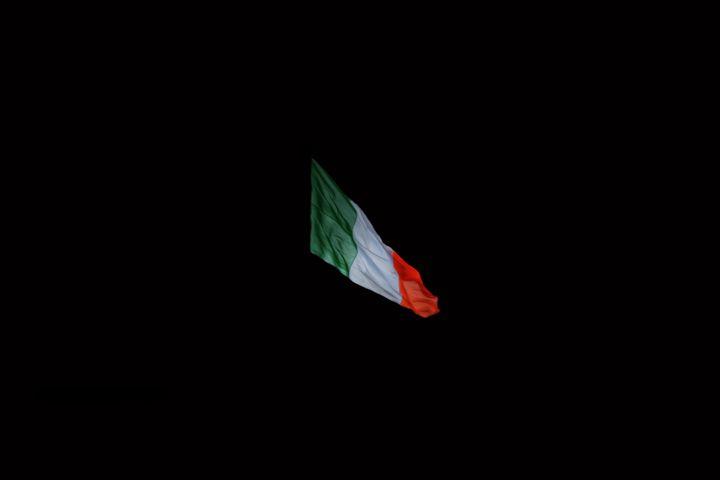 Irish Tricolour - JS Photo