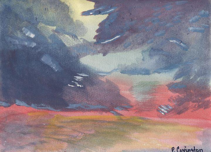 dawn after the storm - p.covington