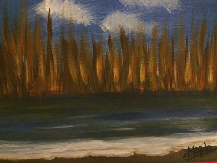 Candles by the sea - Magda Loves to Paint