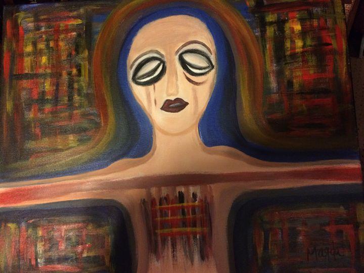 Locked Heart - Magda Loves to Paint