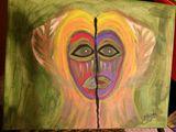 16 x 20 canvas, acrylic paint