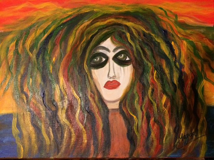 Water, wind and fire - Magda Loves to Paint