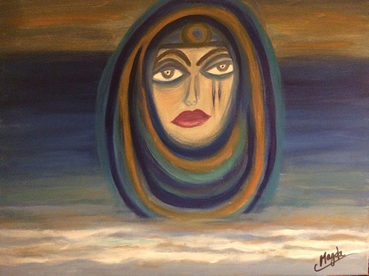Mystery by the sea - Magda Loves to Paint
