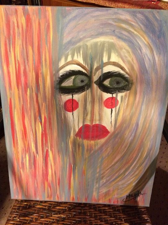 Trapped - Magda Loves to Paint