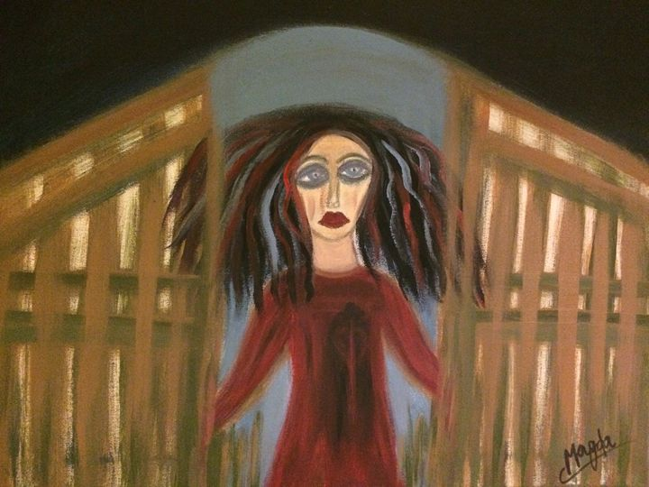 Passing her life's gates - Magda Loves to Paint