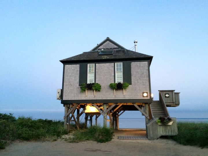 Cape Cod Cottage by the sea - Magda Loves to Paint
