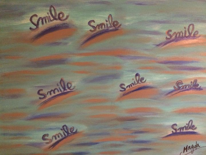 Little smiles - Magda Loves to Paint