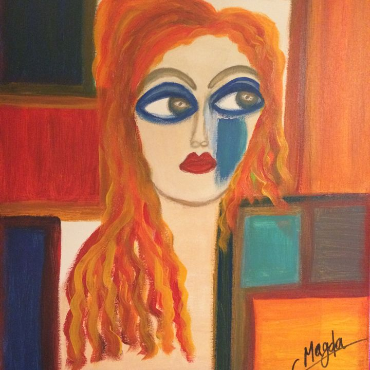Magda is Painting her life - Magda Loves to Paint