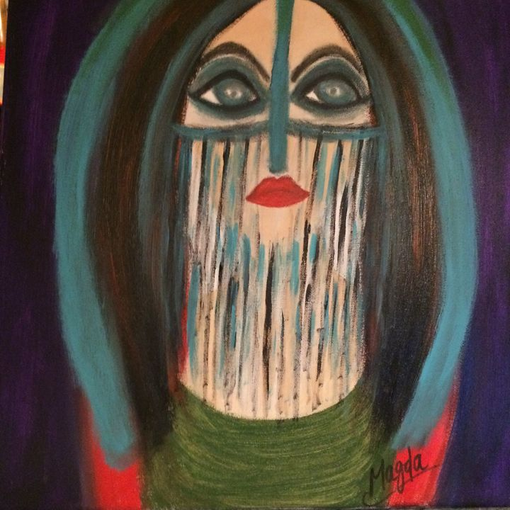 Merging from the past - Magda Loves to Paint
