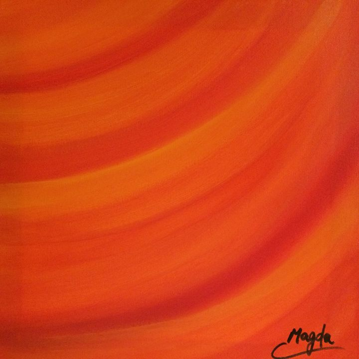Good Energy Waves - Magda Loves to Paint