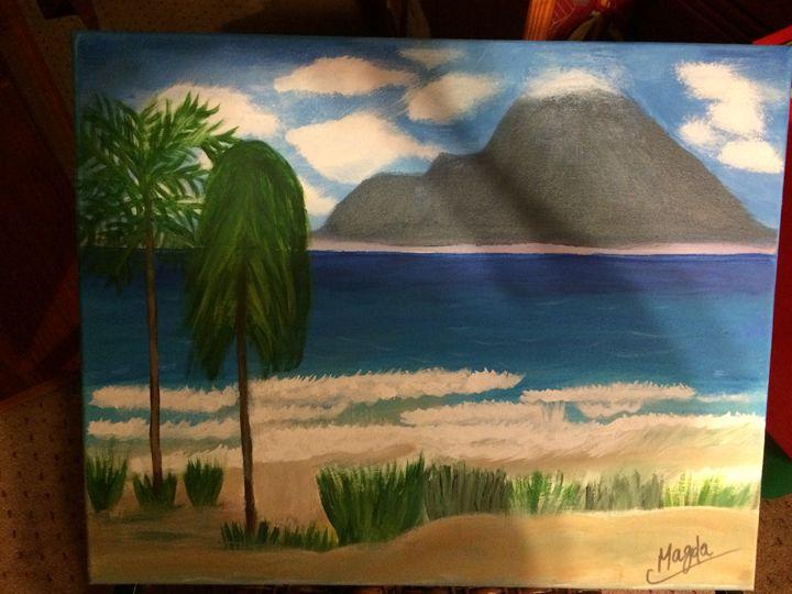 Hawai Island - Magda Loves to Paint