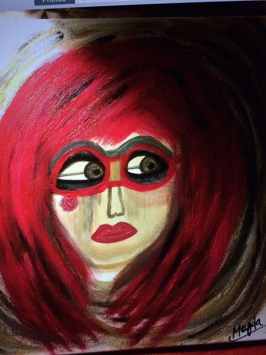 Mona - Magda Loves to Paint