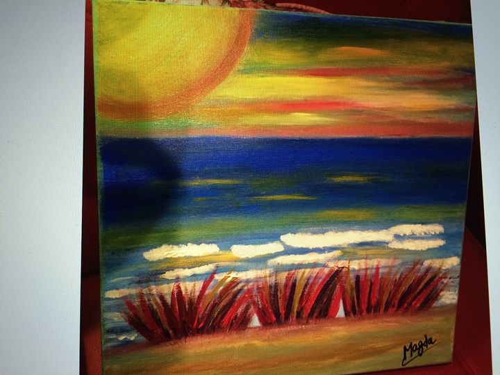 Sunny Island - Magda Loves to Paint