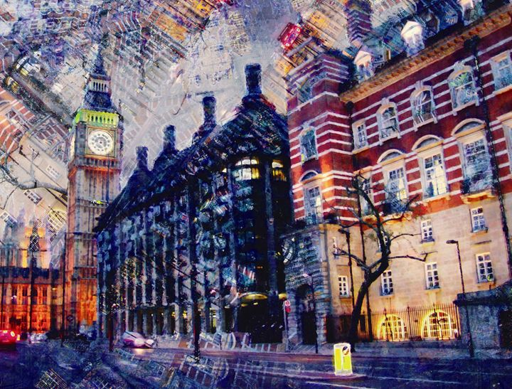 Atardecer en Londres - Javierd8a