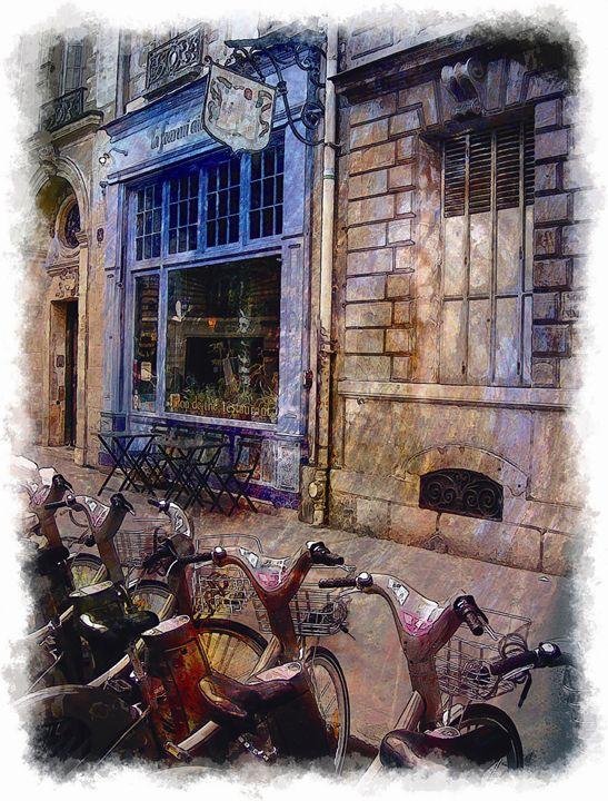 Bicicletas de París - Javierd8a