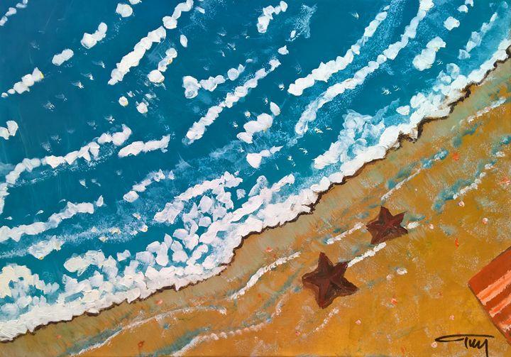 Seashore - Assythena Art