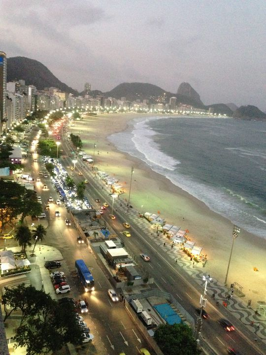 View from the Top in Rio - Amina Russell Gallery