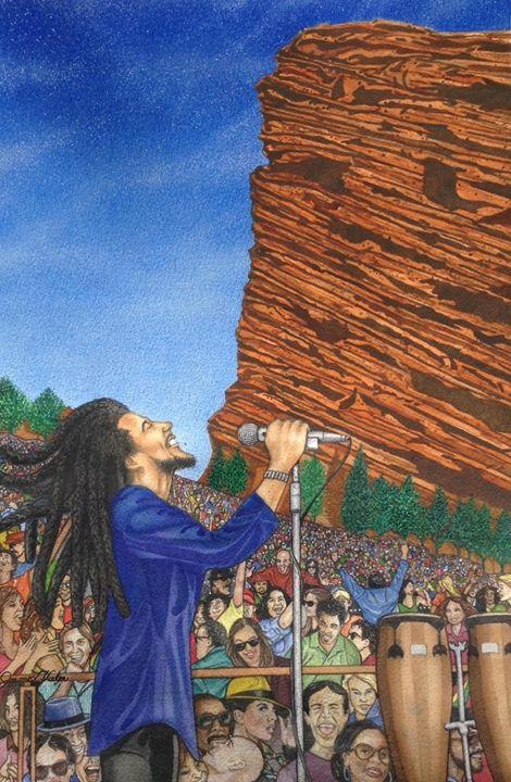 Marley Rocks - JL VadenArt