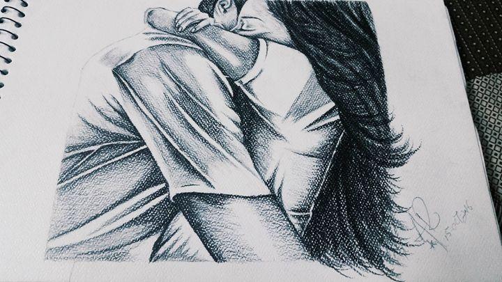 A Real Hug - My Art