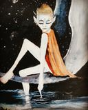 Fantacy moonchild art