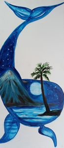 Blue Island Whale