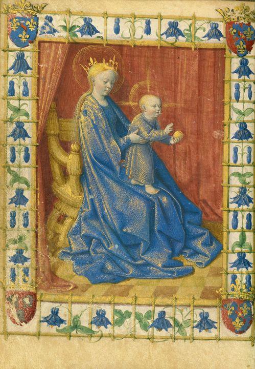 Jean Fouquet~The Virgin and Child En - Artmaster