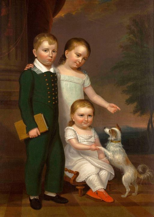 John James Crawley~Portrait of Frede - Artmaster