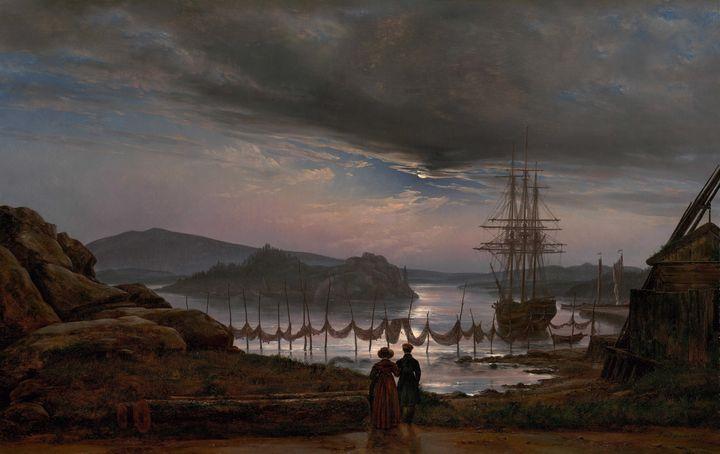 Johan Christian Dahl~View from Vaeke - Artmaster