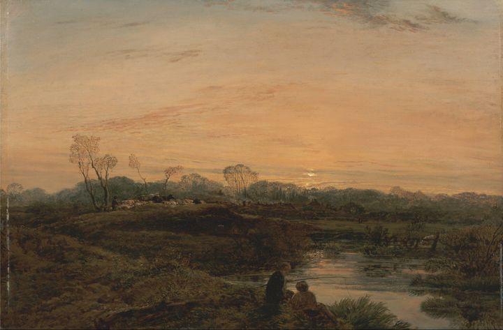 John Linnell~Evening, Bayswater - Artmaster