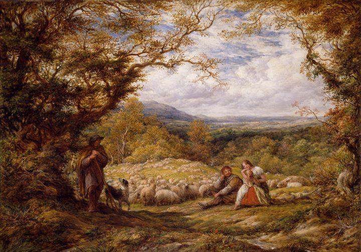 John Linnell~The Sheep Drive - Artmaster
