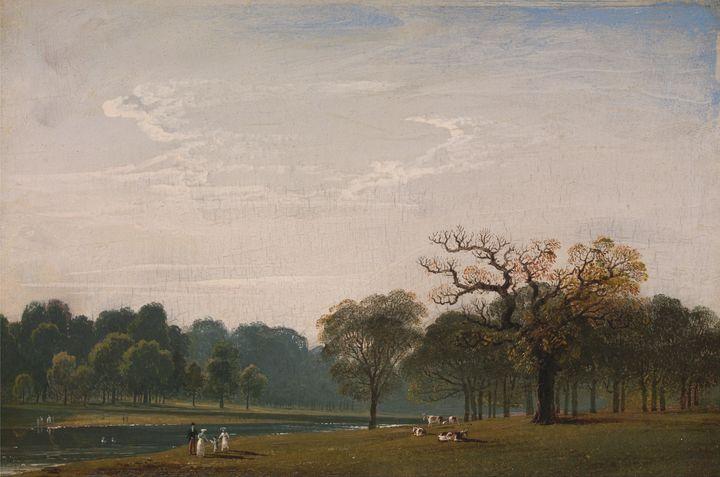 John Martin~Kensington Gardens - Artmaster