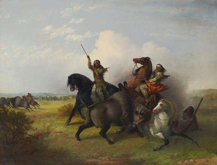 John Mix Stanley~The Buffalo Hunt - Artmaster