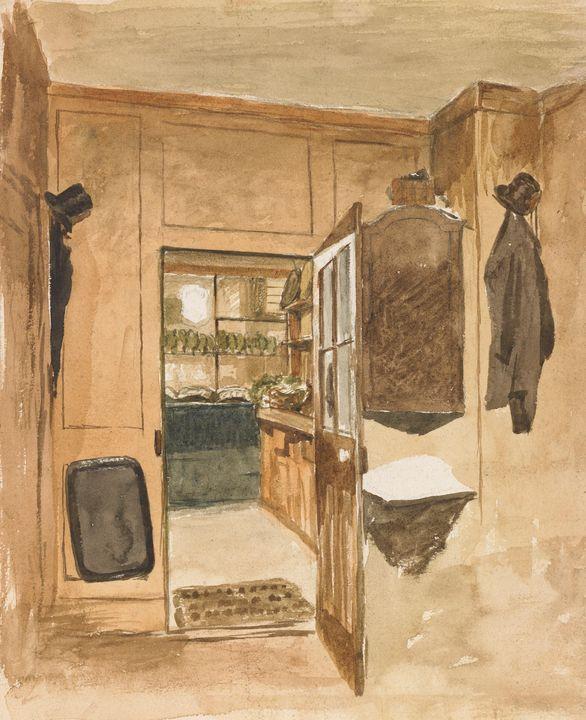 John Ottis Adams~Adams' Lodgings, Lo - Artmaster