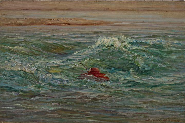 John Ottis Adams~The Wave-Whitewater - Artmaster