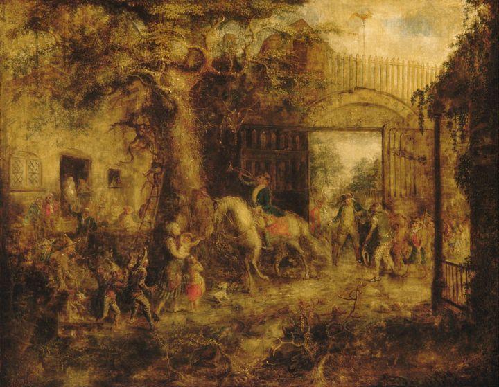 John Quidor~The Vigilant Stuyvesant' - Artmaster